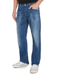 Larkee Relaxed 836X Medium Wash Mid Rise Jeans