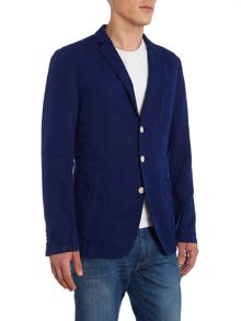 Hugo Boss Neel-D Linen Cotton Blend Blazer