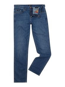 Delaware Slim Fit Mid Wash Jean