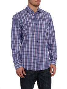 Classic Fit Shirt In Chambray Check