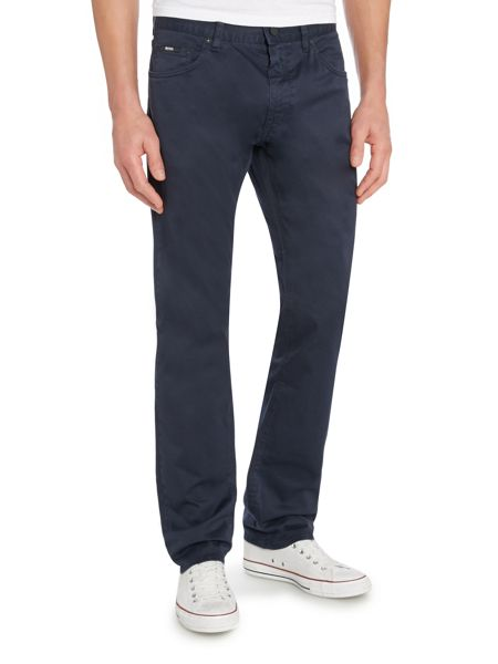 Hugo Boss Straight Leg Casual Gaberdine Chino