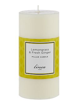 Lemongrass & Ginger Pillar Candle