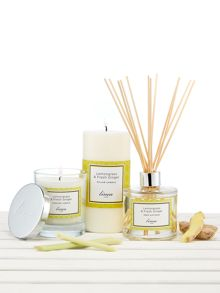 Linea Lemongrass & Ginger Pillar Candle