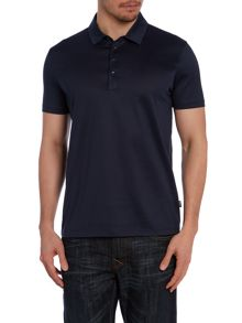 Polo Shirt In Mercerised Cotton