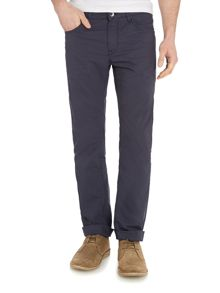5 Pocket Textured Trousers