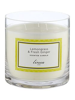 Lemongrass & Ginger 3 Wick Candle