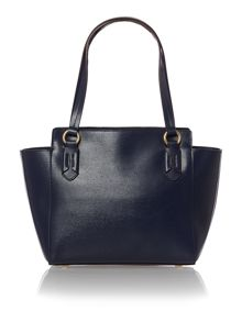 Tate navy tote shoulder bag