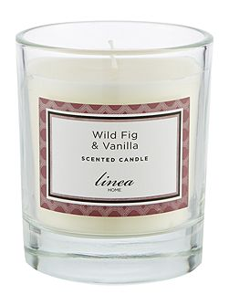 Wild Fig & Vanilla Single Candle