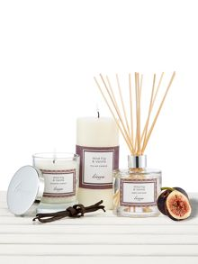Linea Wild Fig & Vanilla Pillar Candle