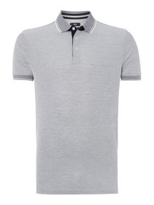 Regular Fit Short Sleeve Pique Polo Shirt