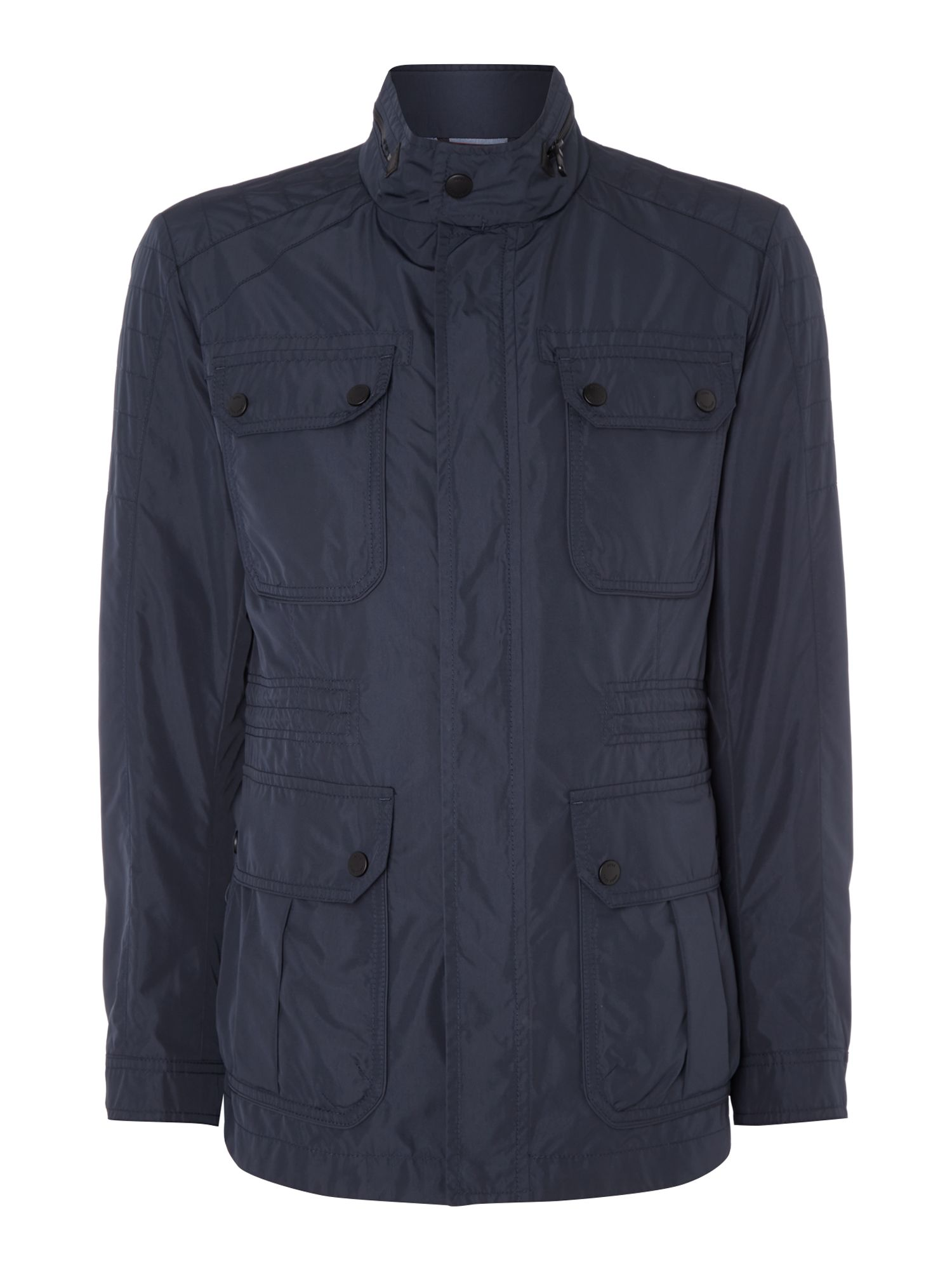 Mens Hugo Boss Cavid Field Jacket Navy