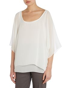Floaty layered top