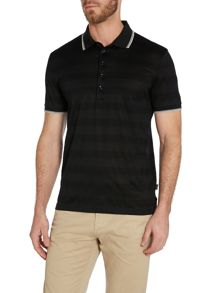 Stripe Regular Fit Polo Shirt