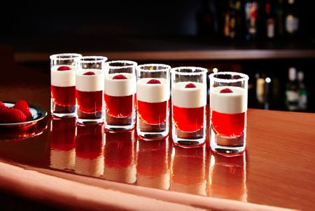 Linea Shot glass set of 6