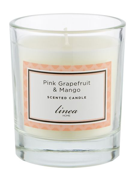 Linea Pink Grapefruit & Mango Single Candle