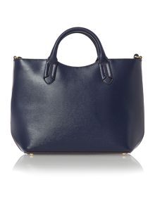 Tate navy tote cross body bag