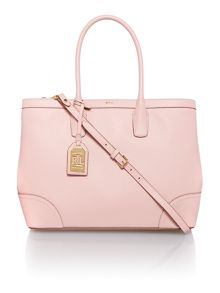 Fairfield pale pink cross body tote bag
