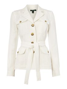 Lauren Ralph Lauren Linen Jacket with pocket detail