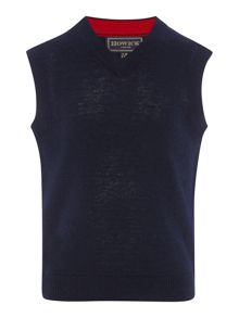 Howick Junior Boys lambswool tank