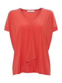 Crea Concept V neck floaty t-shirt