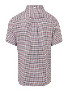Boys fine check shirt