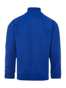 Fred Perry Boys zip funnel logo sweat