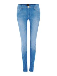 Lee Jade slim jean in bright dye