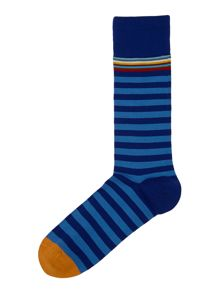 Multi Two Stripe Sock