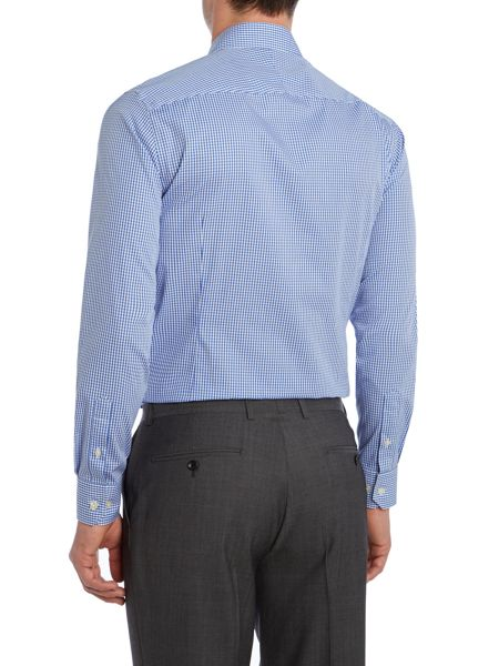 Howick Tailored Everston Gingham Slim Fit Shirt