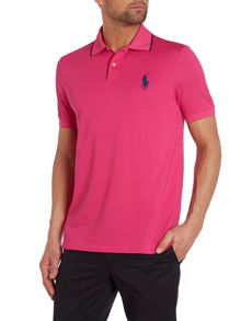 Plain Performance Pique Pro-Fit Polo Shirt