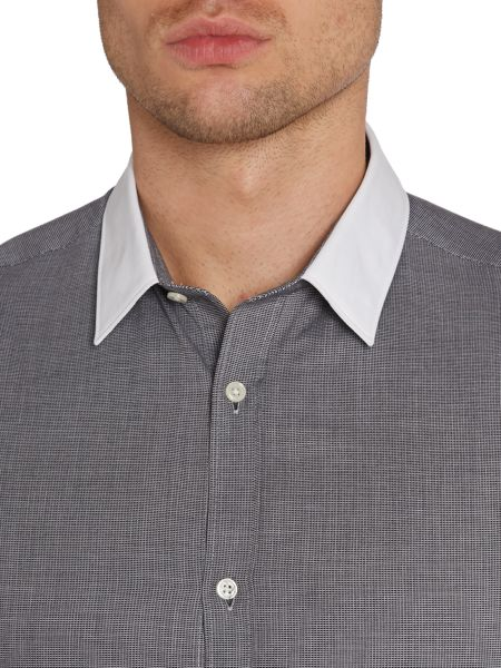 Kenneth Cole Raymond Mini Grid Shirt