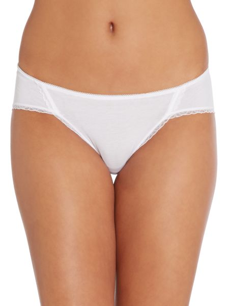 b.tempt'd B. Natural bikini briefs
