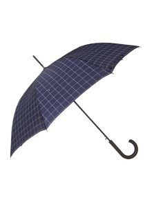Fulton Shoreditch Check Walker Umbrella