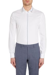 Kenneth Cole Randall Insert Collar Details Shirt
