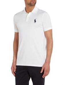 Plain Performance Pique Regular Fit Polo Shirt