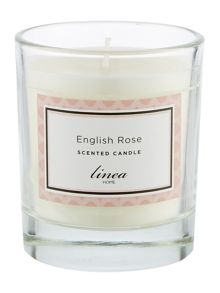 Linea English Rose Single Candle