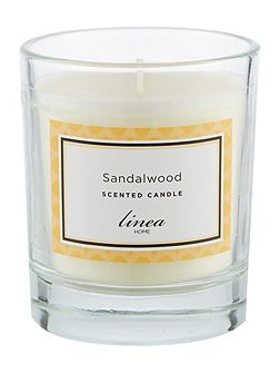 Linea Sandalwood Single Candle