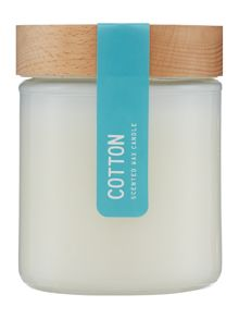 Cotton Jar Candle