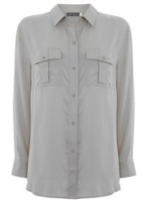 Stone Relaxed Fit Shirt