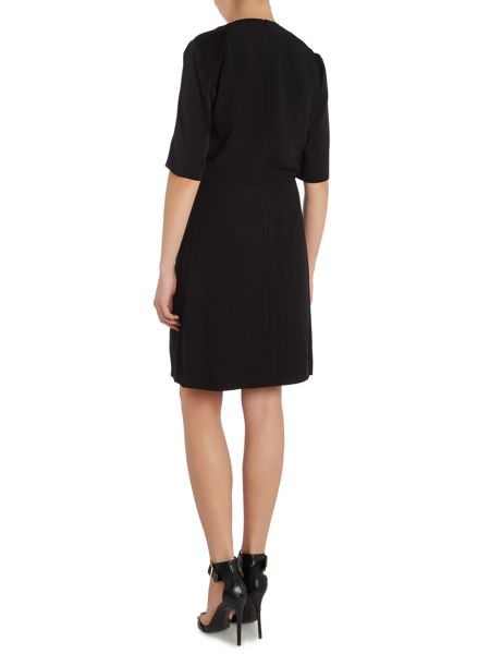 Tara Jarmon Half sleeve wrap dress