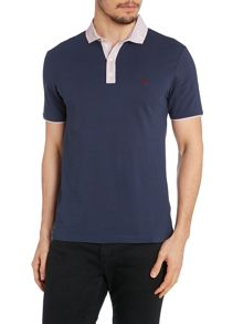 Contrast Collar Slim Fit Polo Shirt