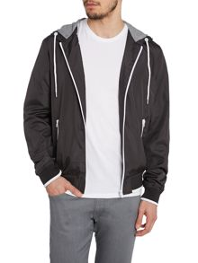 Casual Waterproof Full Zip Bomber Jacket