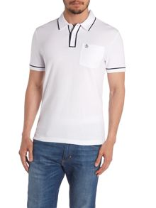 Original Penguin Earl Tipped Slim-Fit Polo Shirt
