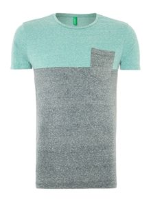 Pattern Crew Neck T-Shirt Regular Fit