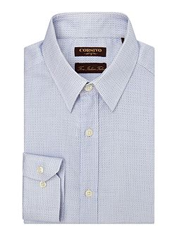 Men's Corsivo Durante Embellished Tailored Fit Shirt