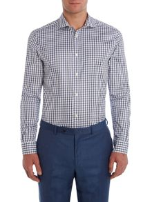 Corsivo Fernando Narrow Check Shirt