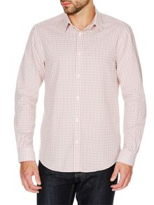 Corsivo Sabino Mini Geo Diamond Print Shirt