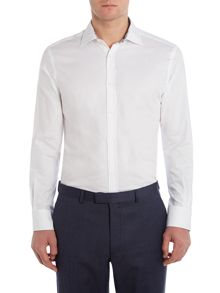 New & Lingwood Greyland Cutaway Collar Formal Shirt