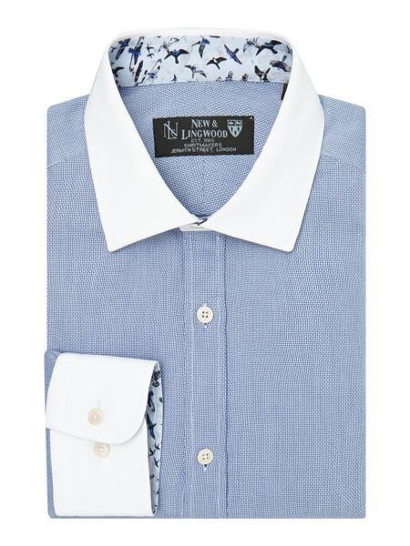 New & Lingwood Farnham Textured Shirt