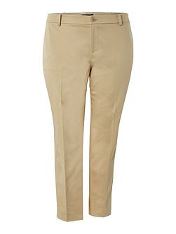 Plus Size Slim leg trouser